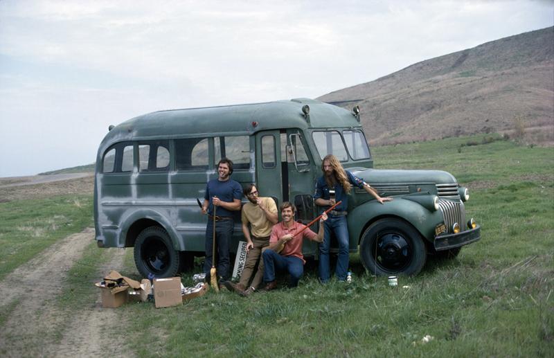 Rick Griffin & crew. Foto: Art Brewer